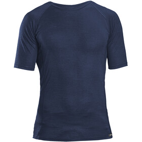 GripGrab Merino Polyfibre Short Sleeve Base Layer navy